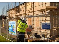 Joiners / Labourers / Groundworks Personnel Wanted for CFM