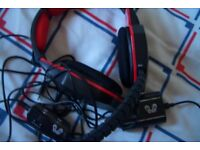 HUHD Head Set Headset Wired PS3 Playstation 3 Gaming PS3