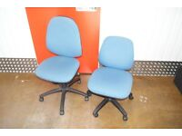 Blue Office Chairs (Receptionist)