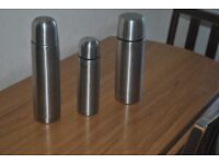 stainless steel flask.
