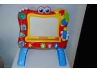 Chad Valley PlaySmart Interactive Magnetic Easel 18+ Months