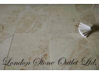 Crema Royal Polished Marble Tiles 61cm x 30.5cm x 1.25cm
