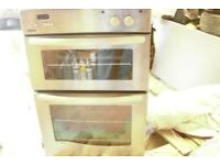 New World Vision double gas oven