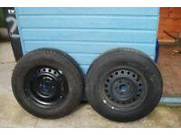 Caravan wheels and tyres