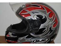 HJC MOTORCYCLE HELMET IN VERY GOOD CONDITION
