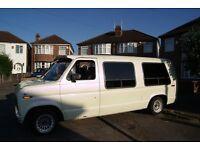 custom ford e150 econoline dayvan/camper/hotrod/ratrod. 60k from new genuine. full mot.4.9litre auto