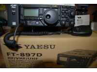 YAESU FT-897D and a LDG ATU. All boxed in showroom condition used very little.
