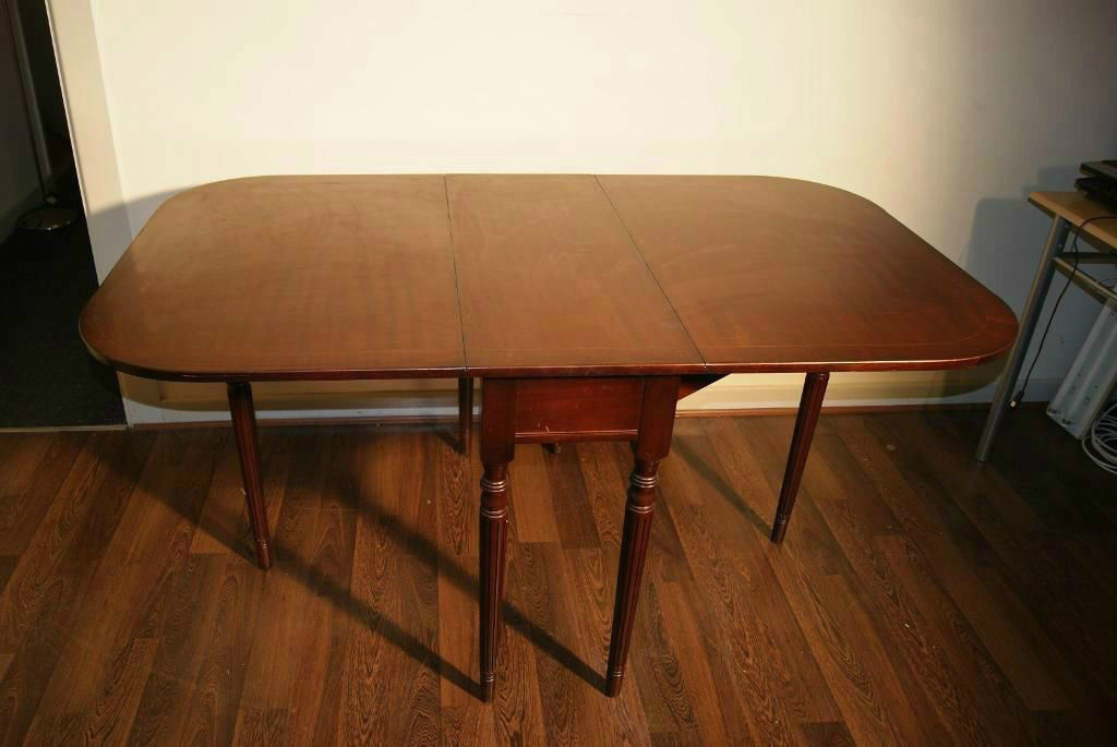 Fold Away Antique Rustic Look Dining Table In Denton Manchester Gumtree