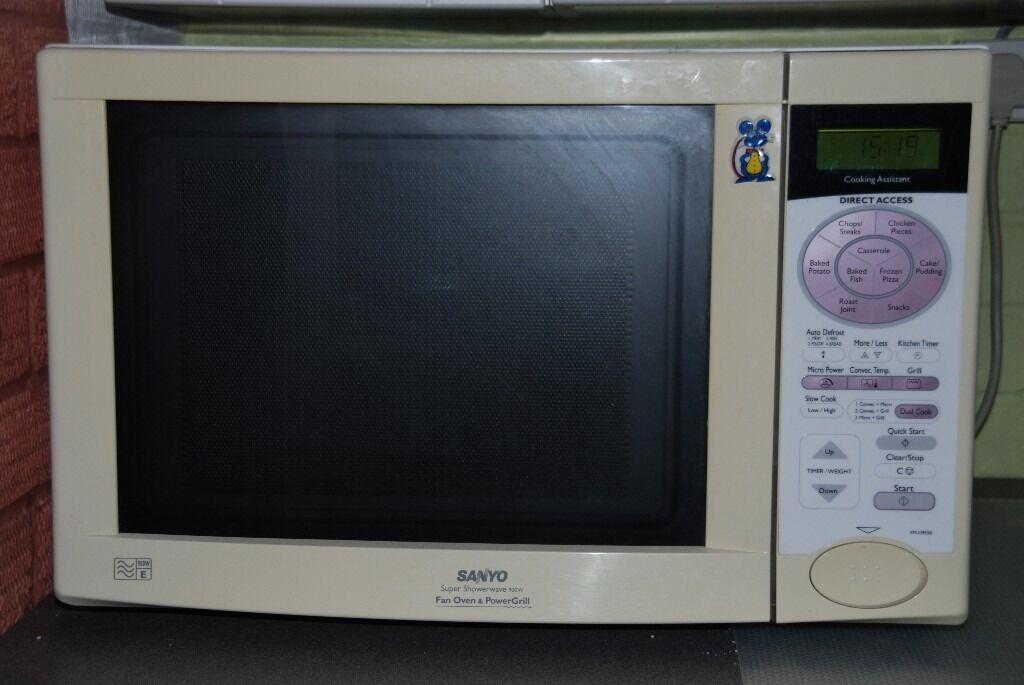 Sanyo Combination Oven Microwave