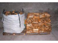 kiln dried logs seasoned logs oak ash firewood open fire free local delivery bulk bags logs burners