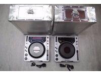 Pioneer CDJ-800 MK1 Pair of Decks with Flight Cases £450