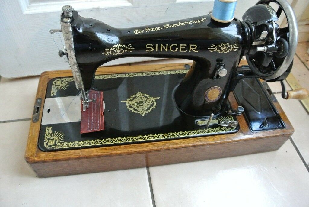 Singer SEMI-Industrial 15K Hand crank Sewing machine