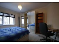 2 DOUBLE BED, 2ND FLOOR FLAT IN PURPOSE BUILT BLOCK, GOLDERS GREEN, MOMENTS FROM SHOPS, TRANSPORT
