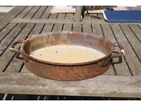 old cast iron pan