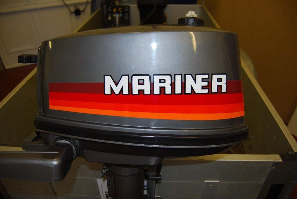 MARINER 2 STROKE 4HP OUTBOARD - EXCELLENT CONDITION FOR AGE - GOOD WORKING  ORDER | in Boston, Lincolnshire | Gumtree