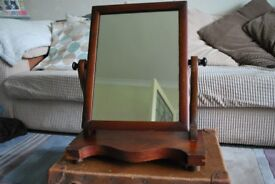 Victorian dressing table swing mirror - needs TLC, great project