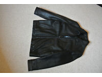 Ben Sherman leather jacket size 38 chest, great condition used only 3-4 times - really!