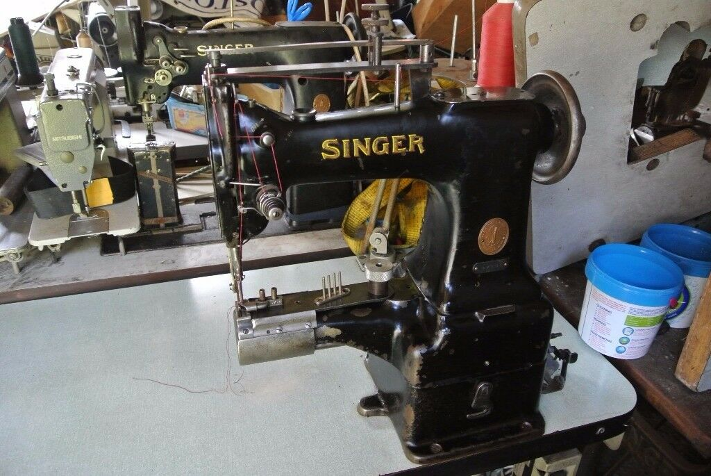 SINGER CYLINDER ARM WALKING FOOT Industrial Sewing Machinewith Best Singer Walking Foot Industrial Sewing Machine