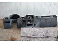 Left hand drive European dashboard and steering rack Mercedes Sprinter W901 - W905 1999 - 2005 LHD