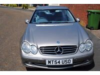 MERCEDES-BENZ CLK270 CDI ADVANTGARDE PILLAR LESS COUPE ONLY £2995 P/X POSSIBLE
