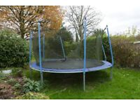 12 ft Trampoline with padding
