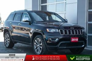 2018 Jeep Grand Cherokee   Limited   NAV   LEATHER  