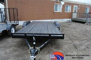 2016 RAINBOW 7x16 deck between car/equipment hauler Regina Regina Area image 2