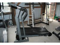 Vision Fitness Semi Commercial Treadmill with Electric Incline - (EXERCISE GYM)