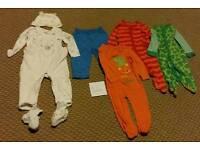 9 - 12 month boys clothes bundle