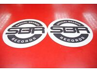 SBR Records Twin Slip Mats £22