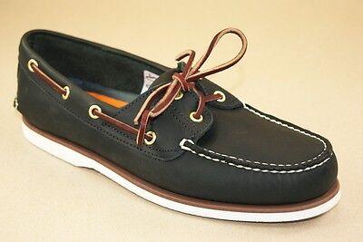 Classic 2 Eye Boat Shoe (Timberland Segelschuhe 2-Eye Classic Boat Shoes Deckschuhe Herren Schuhe 74036)