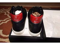Gucci snake skin trainers size 9
