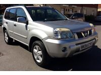 2004 NISSAN X-TRAIL SVE TURBO DIESEL WITH TOW BAR AND ELECTRICS FOR SALE!!