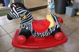 Little Tikes Rocking Zebra