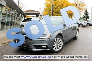 2013 Audi A4 *SOLD* 2.0T (Tiptronic)