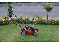 sanli self propelled petrol lawn mower model LSP 420 S4A