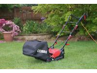 Cobra Cylinder lawnmower as new