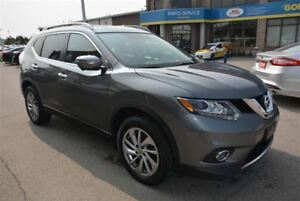 2015 Nissan Rogue SL/AWD/NAV/PANORAMIC ROOF/LEATHER/CAMERA