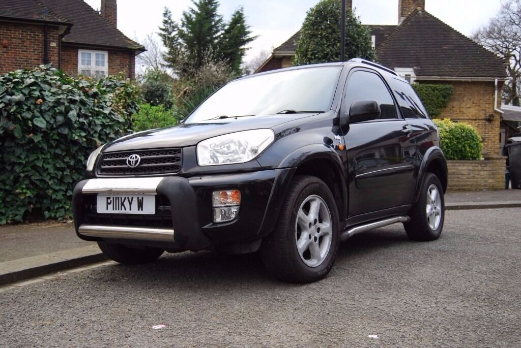 Toyota Rav4 Nrg Vvti 2003 Black Cheap Bargain Sport Rare 3 Door