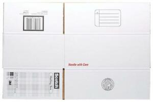 Scotch Mailing, Moving, and Storage Box, 14 Inches x 10 Inches x 5-1/2 Inches, 12-Pack (8006)PU2