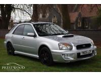 SUBARU IMPREZA 2.0 WRX TURBO AWD SPORTWAGON [225 BHP] (silver) 2005