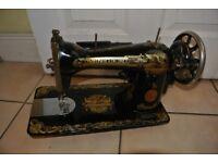 Vintage 15K Singer Sewing Machine