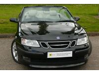 LOW MILEAGE CONVERTIBLE** Saab 9-3 2.0 T Aero Auto 2dr **9 STAMPS*** 6 MONTH WARRANTY**PART EX WEL