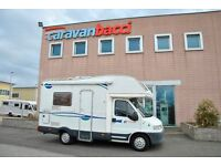 CI Euro 100 4 berth motorhome. based on a Fiat ducato 2.8 td