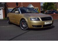 "Audi A4 B6 Convertible 1.8T Sport! 18"", Black heated leather!"