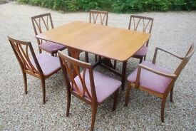 Dining Table and chairs - G Plan
