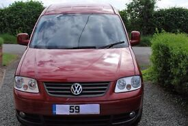 VW Caddy Maxi Life 1.9 TDi Wheelchair Accessible Vehicle