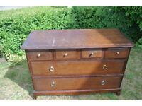 Stag Furniture Chest of Drawers 2 Long Drawers 4 Small Drawers