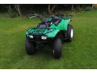 Kawasaki KLF220 quad farm off road quad 2x4