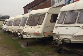 CASTLEFORD CARAVANS OPEN MONDAY TO SATURDAY 9:30 am to 5
